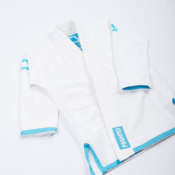 Tatami BJJ Gi Kids 2.0 vit blå 3