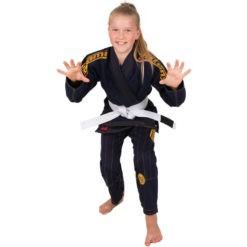 Tatami BJJ Gi Kids Estilo 6 0 navy guld 2