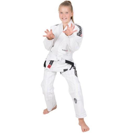 Tatami BJJ Gi Kids Estilo 6 0 vit svart 1