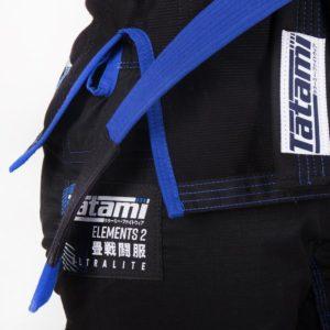 Tatami BJJ Gi Ladies Elements Ultralite 2.0 svart 7