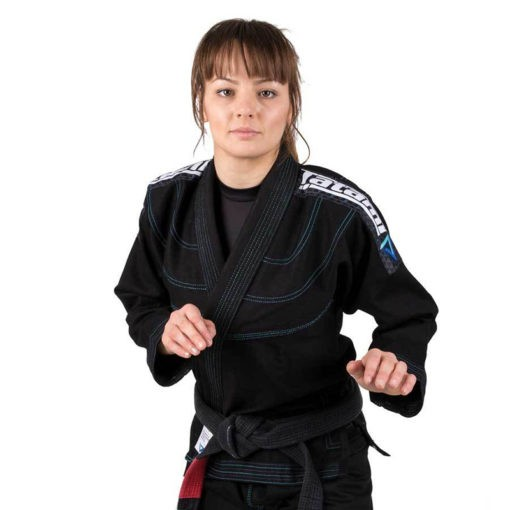 Tatami BJJ Gi Ladies Elements Ultralite svart 1