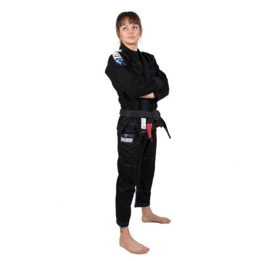 Tatami BJJ Gi Ladies Elements Ultralite svart 2