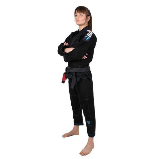 Tatami BJJ Gi Ladies Elements Ultralite svart 3