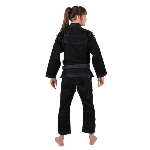Tatami BJJ Gi Ladies Elements Ultralite svart 5
