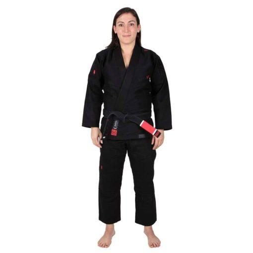 Tatami BJJ Gi Ladies Estilo 6.0 svart svart 1a