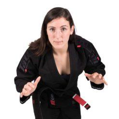 Tatami BJJ Gi Ladies Estilo 6.0 svart svart 8