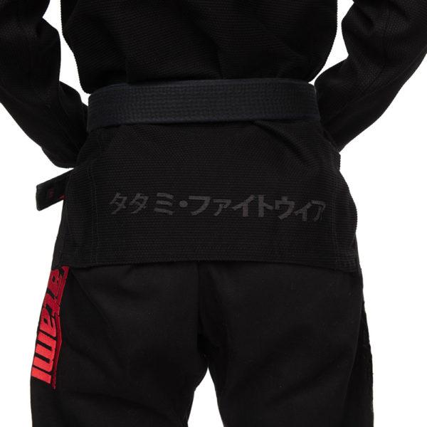 Tatami BJJ Gi Ladies Estilo Black Label black red 15