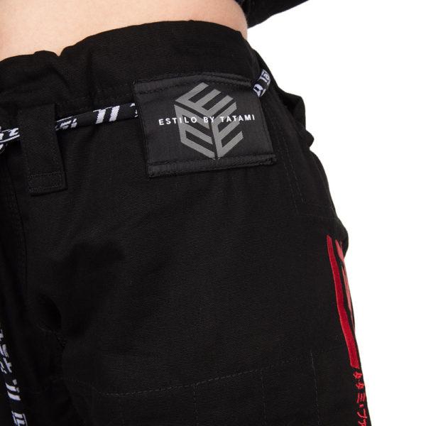 Tatami BJJ Gi Ladies Estilo Black Label black red 16