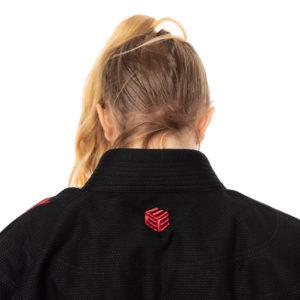 Tatami BJJ Gi Ladies Estilo Black Label black red 17