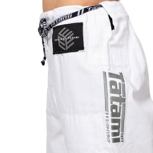 Tatami BJJ Gi Ladies Estilo Black Label grey white 15