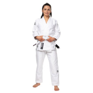 Tatami BJJ Gi Ladies Estilo Black Label grey white 2