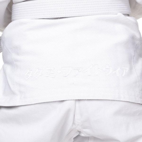 Tatami BJJ Gi Ladies Estilo Black Label grey white 8
