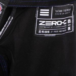 Tatami BJJ Gi Zero G V4 svart 9