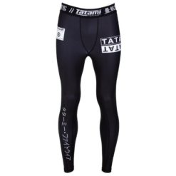 Tatami Grappling Spats White label 1