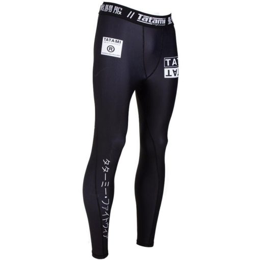 Tatami Grappling Spats White label 3