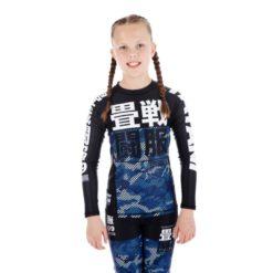 Tatami Kids Rashguard Essential Camo bla 1