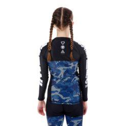 Tatami Kids Rashguard Essential Camo bla 3