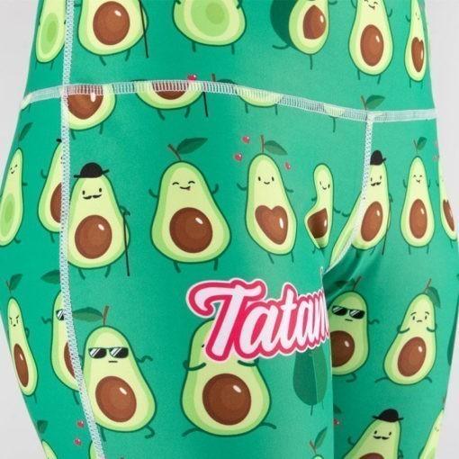 Tatami Ladies Grappling Spats Avocado 3