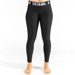 Tatami Ladies Grappling Spats Black 1