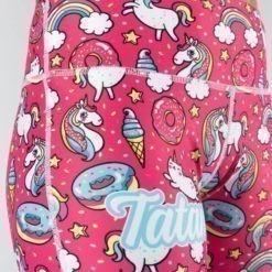 Tatami Ladies Grappling Spats Unicorn 3