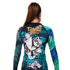 Tatami Ladies Rashguard King Sloth 4