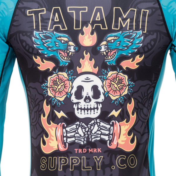 Tatami Rashguard Dia De Los Muertos 5