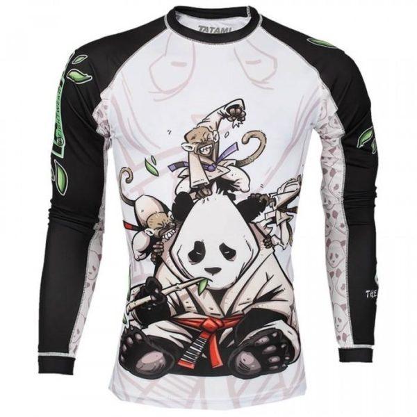 Tatami Rashguard Gentle Panda 1