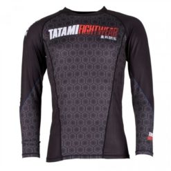 Tatami Rashguard Hexagon svart 1