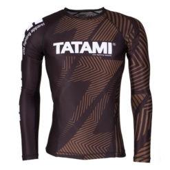 Tatami Rashguard IBJJF Rank brun 1