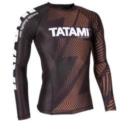 Tatami Rashguard IBJJF Rank brun 2