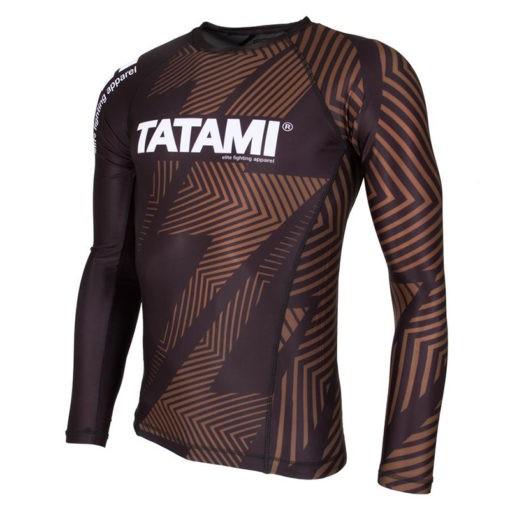 Tatami Rashguard IBJJF Rank brun 3