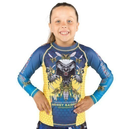 Tatami Rashguard Kids Honey Badger V5 1