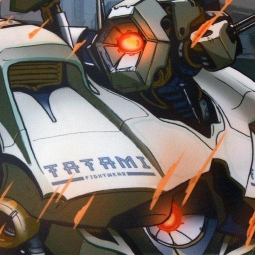 Tatami Rashguard Kids Mech Destroyer 4