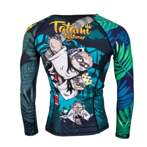 Tatami Rashguard King Sloth 3