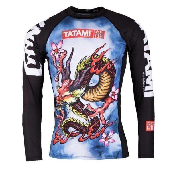 Tatami Rashguard Oriental Dragon 1