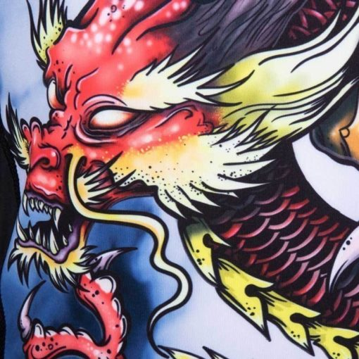 Tatami Rashguard Oriental Dragon 6