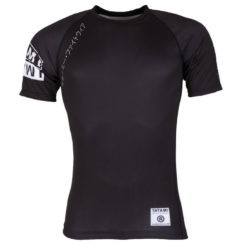Tatami Rashguard Short Sleeve White Label 1