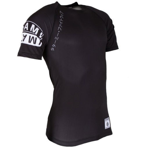 Tatami Rashguard Short Sleeve White Label 2