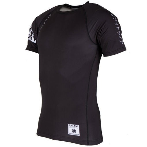 Tatami Rashguard Short Sleeve White Label 3