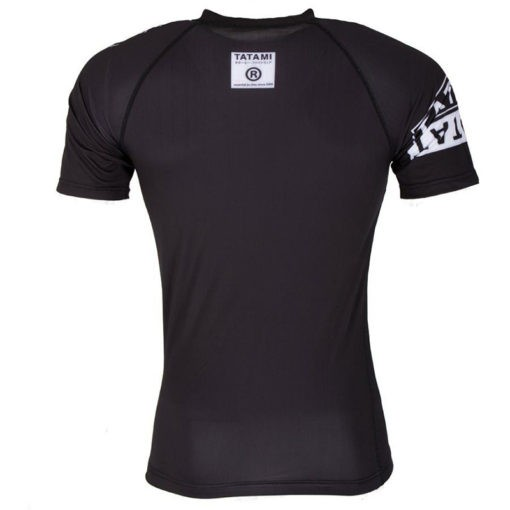 Tatami Rashguard Short Sleeve White Label 4