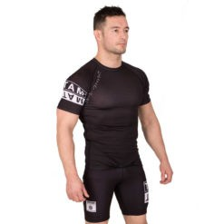 Tatami Rashguard Short Sleeve White Label 5