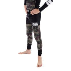 Tatami Spats Kids Essential Camo gron 2
