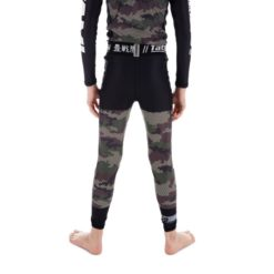 Tatami Spats Kids Essential Camo gron 3