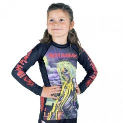 Tatami x Iron Maiden Kids Rashguard Killers