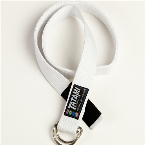 Tatami Casual BJJ Rank Bell white