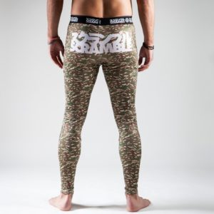 Tiger camo spats back scramble