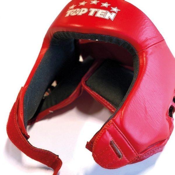 Top Ten AIBA Boxningshjalm lader rod 2