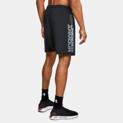 Under Armour Mens Shorts Woven Wordmark 1320203 001 2