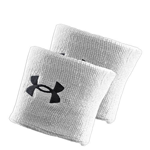 Under Armour Performance Wristband 3 white