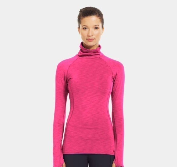 Under Armour Womens Cozy Neck pinkadelic 3